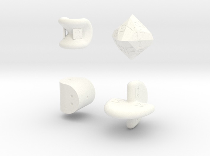 SirisC dice set 3d printed