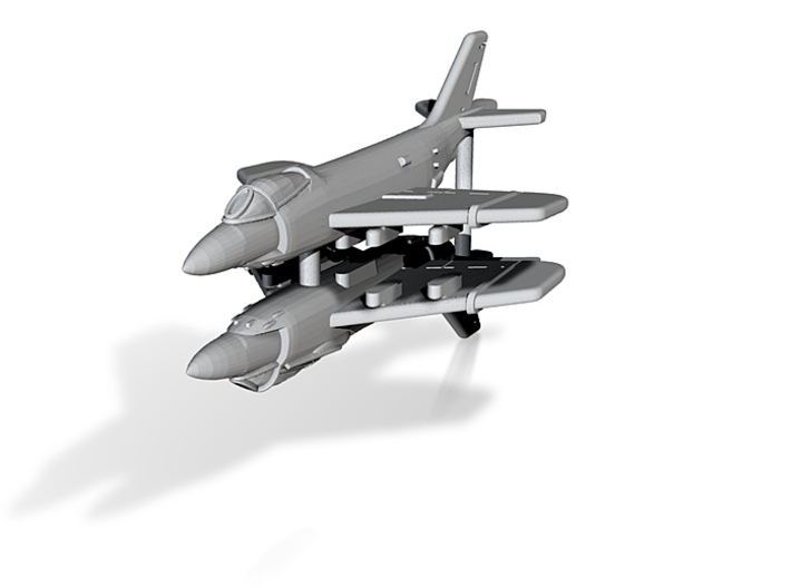 1/600 F3H Demon (x2; WSF)* 3d printed