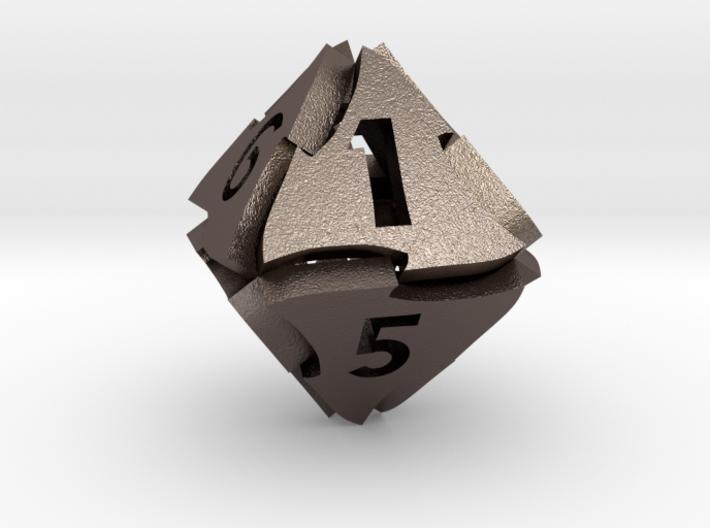 Tranglex Eight-Sided Die 3d printed