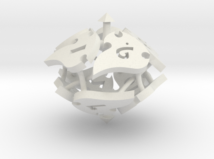 Tocrax Ten-Sided Die 3d printed