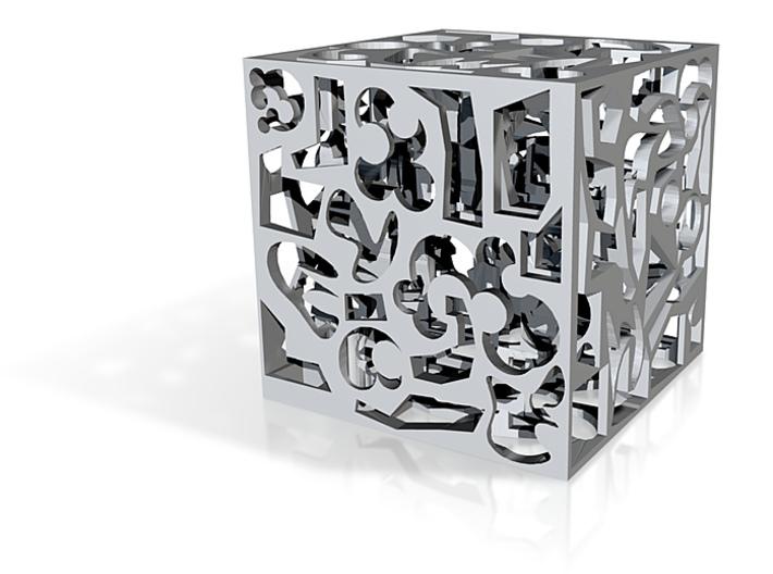art cube 3d printed