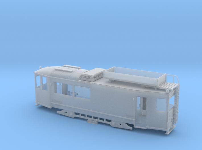 "Arbeitstriebwagen ""Thüringer Waldbahn"" Spur TT 3d printed"