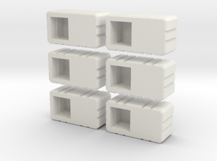 Combiner Twin Sockets 3d printed