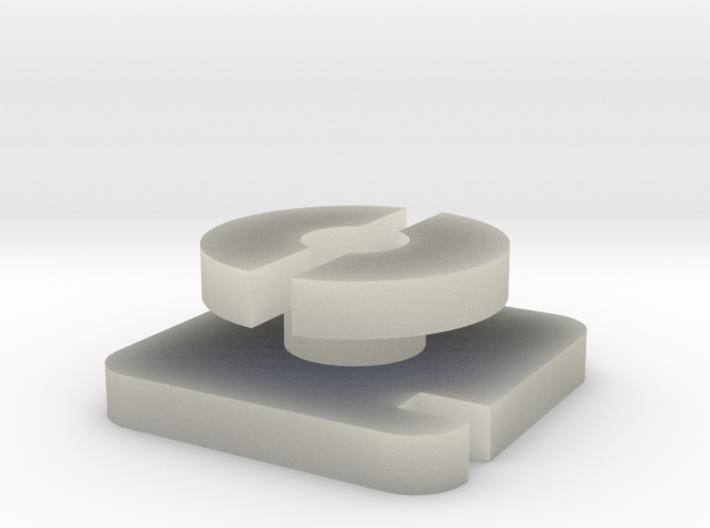 coil hex rev 1 3d printed