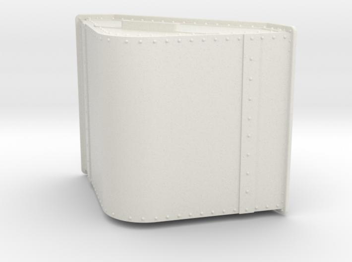 1/32 or 1/35 scale skip (riveted) 3d printed