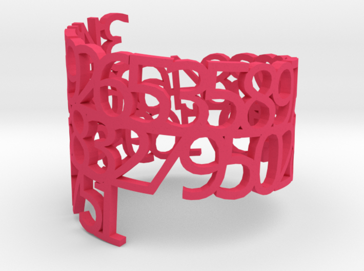 PI Napkin Ring 3d printed