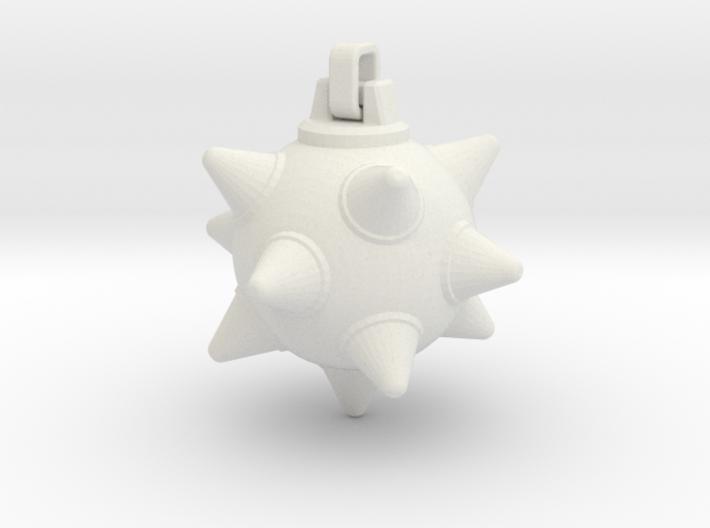 Morning-Star Pendant Head 3d printed