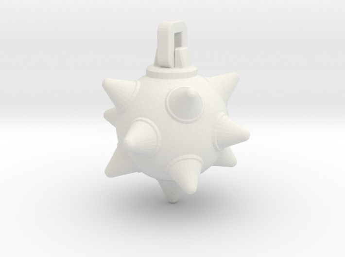 Morning-Star Pendant Head(s) 3d printed