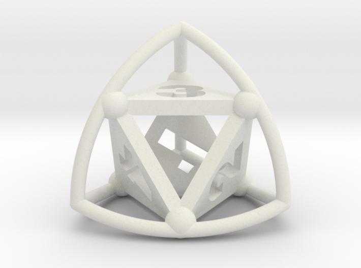 Tetrasphere 3d printed