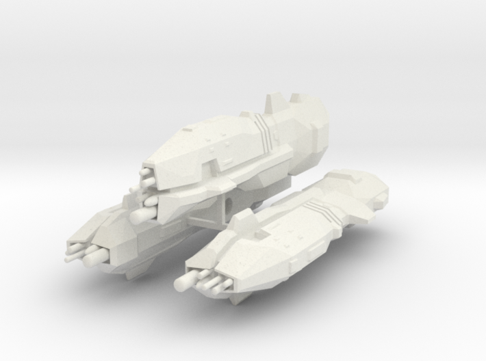 USF Light Cruiser x 3 3d printed