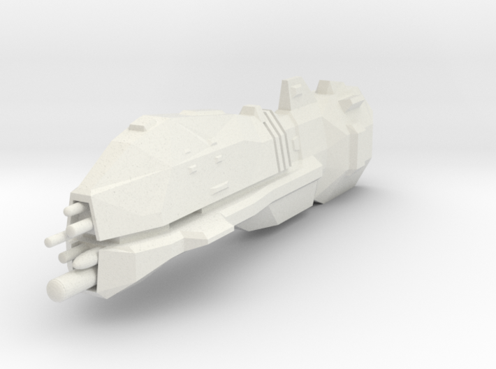 USF Heavy Cruiser 3d printed