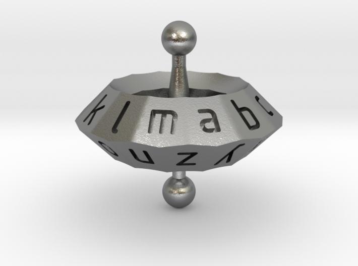 Space alphabet 3d printed
