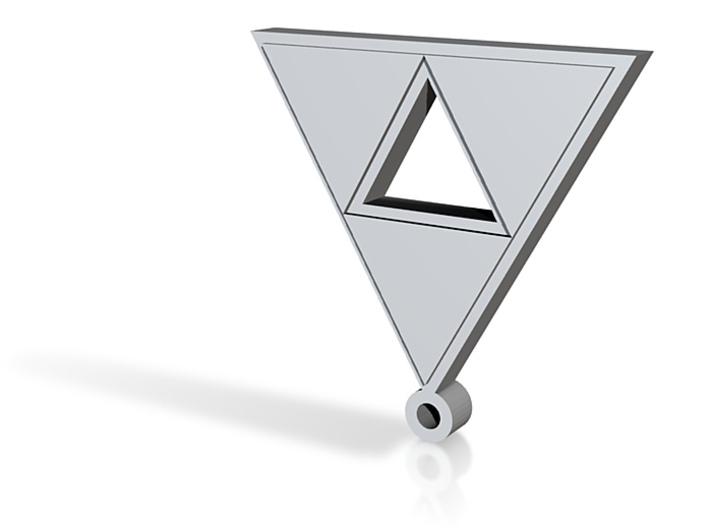 triforce pendant 3d printed