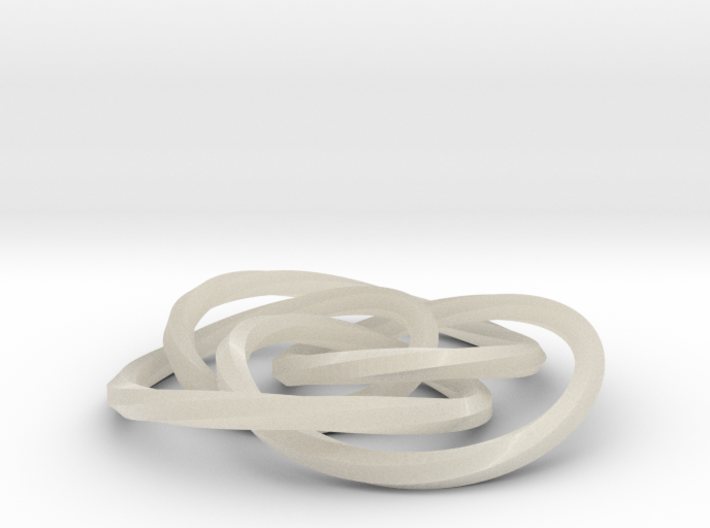 cycloidal knot 3d printed