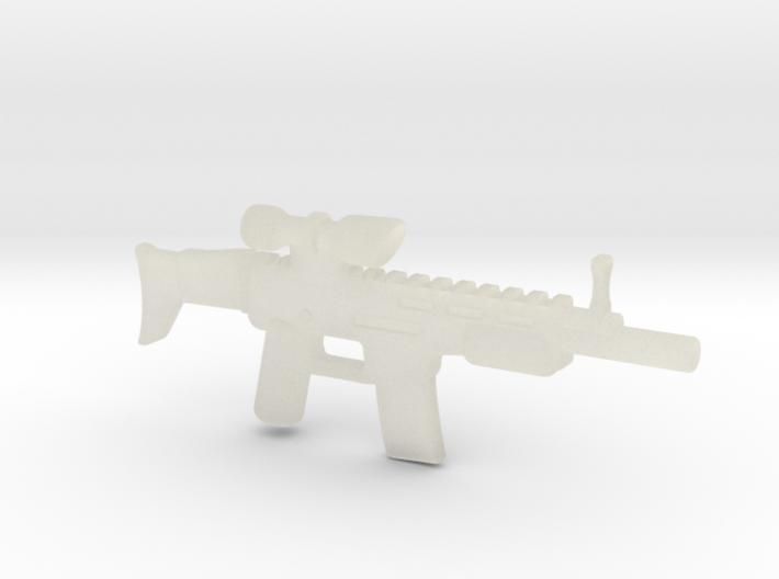 Scar print test 3d printed