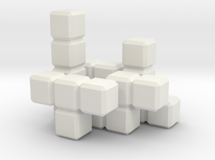 Tetris Blocks 3d printed