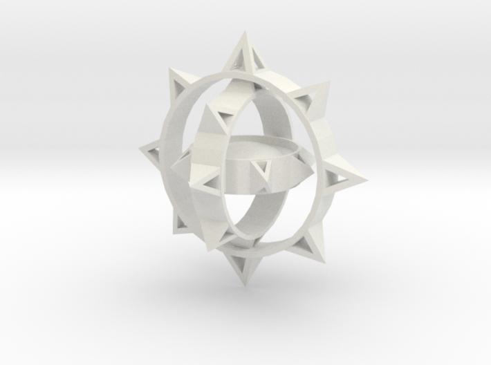 Sun Keychain Variation m2 3d printed