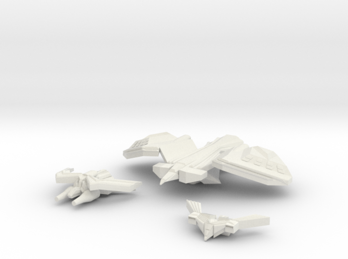 Royal Falcons Strike Craft 3d printed