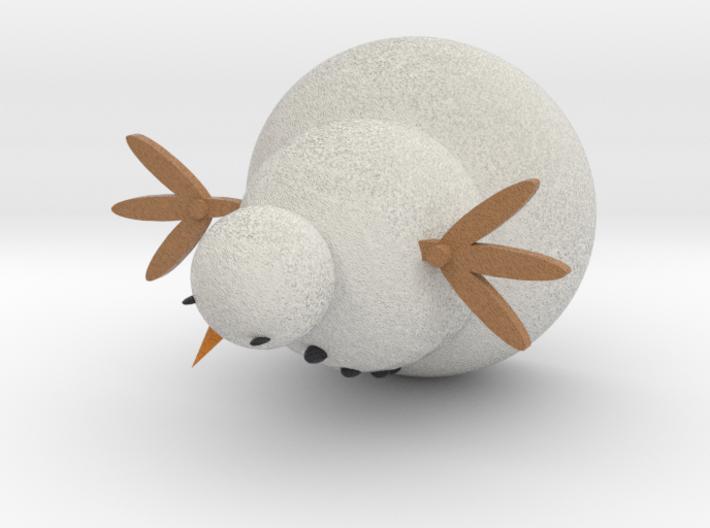 The Snowman 2 3d printed