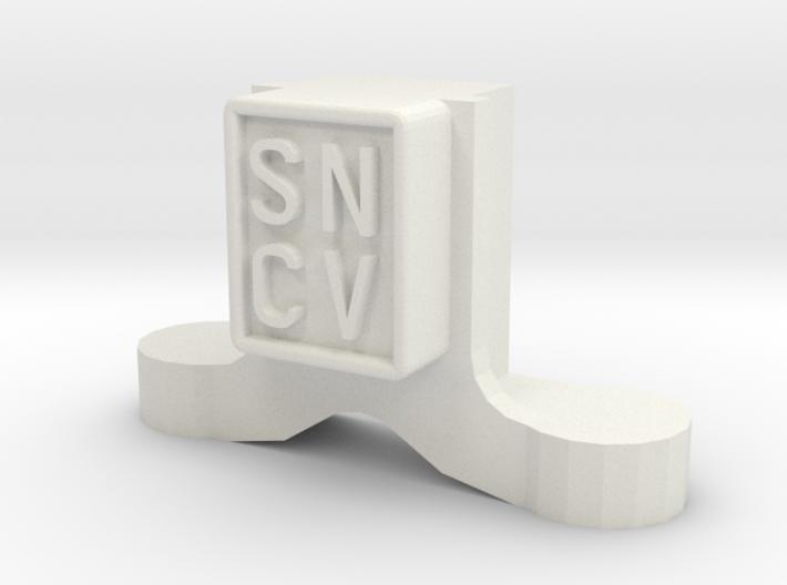 SNCV boite-NMVB assendoos-NMVB axle box-type Brill 3d printed