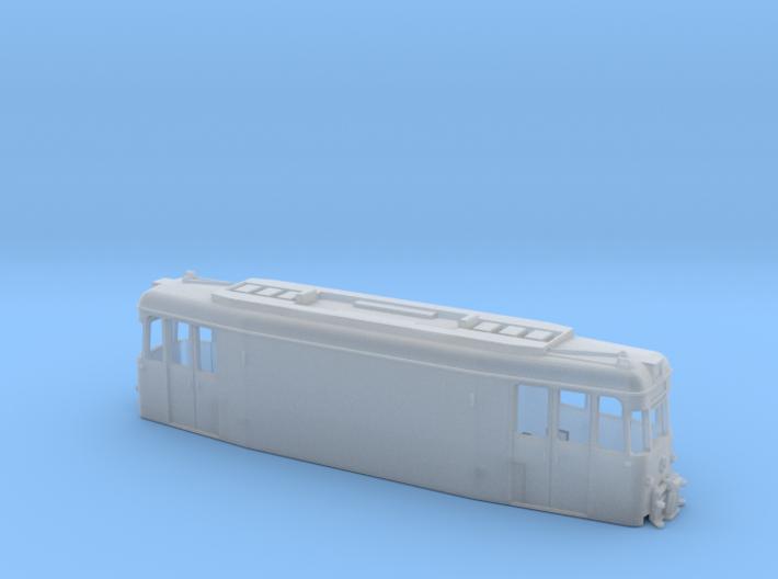 Straßenbahn Arbeitstriebwagen 3d printed