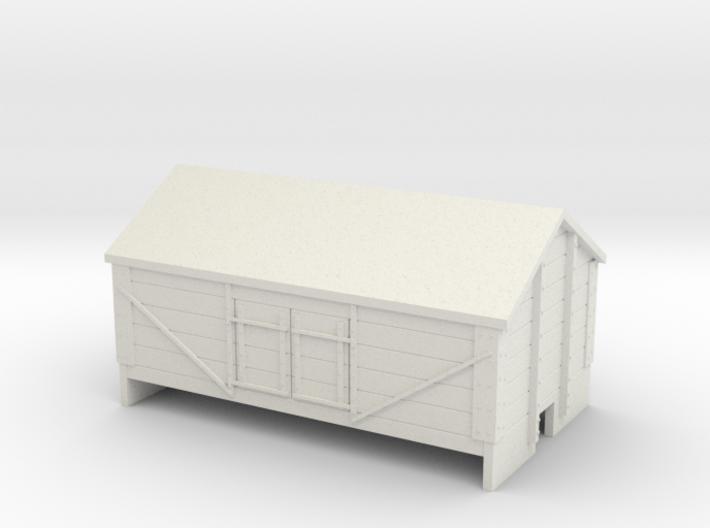 OO9 Salt wagon 3d printed