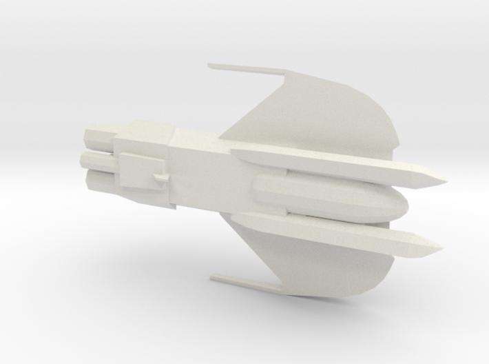 NTSHLK Sheliak Cruiser 1/7000 3d printed