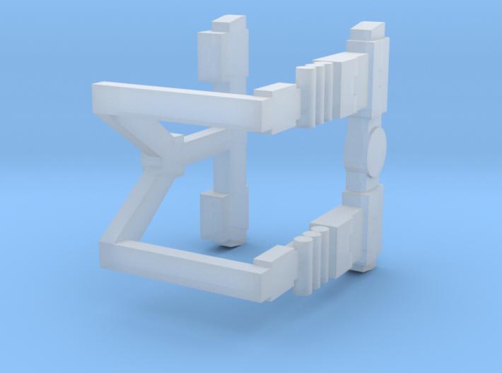 Duke Straps 3d printed