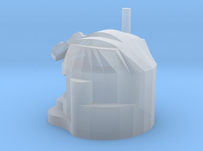 Space Warrior Helmet 3d printed
