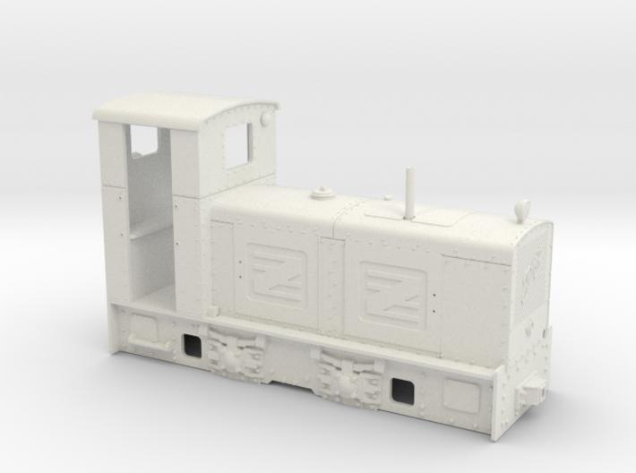Feldbahn Jung ZL 233 (Spur 0e/f) 3d printed