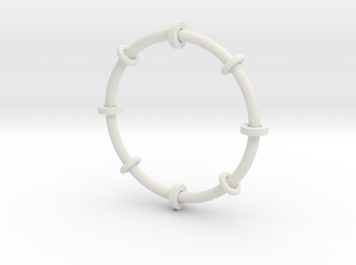 Fiddle toy bangle 3d printed