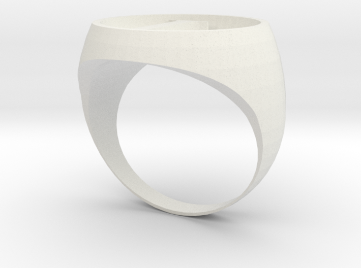 New Legion ring design 3d printed