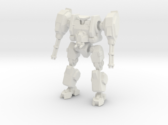 Mecha- Hunter (1/285th) Multi- Part 3d printed