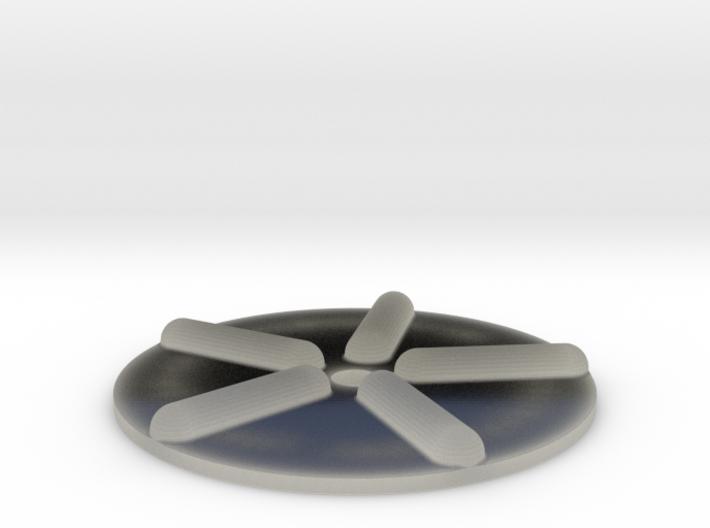 Wellenscheibe-einfach 3d printed