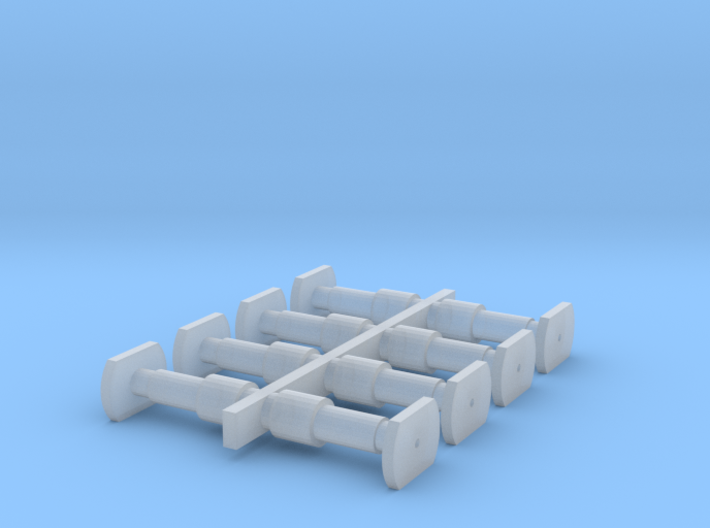 Oude Buffers NMBS-SNCB 3d printed