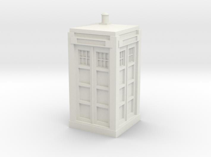 Police Box model kit 3d printed