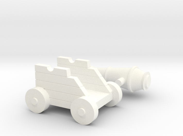 Martian Medium Gun 28mm 3d printed