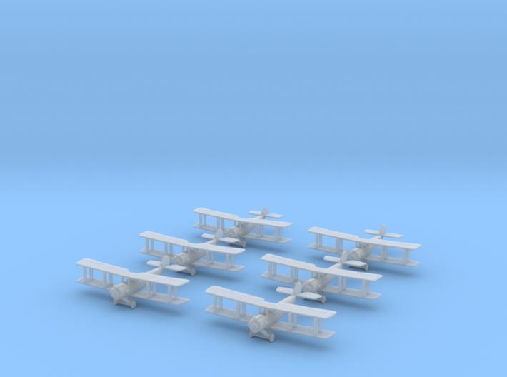 1/350 Salmson 2A2 (x6) 3d printed