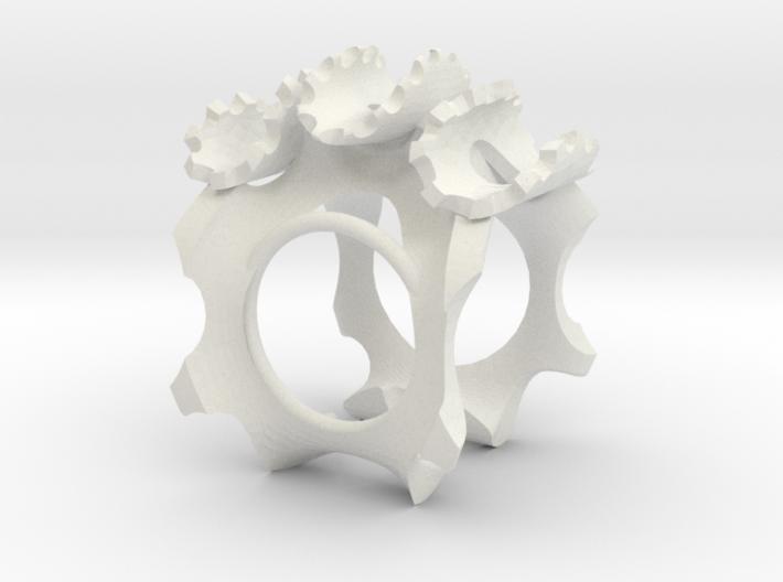 warp gear 2 revise 3d printed