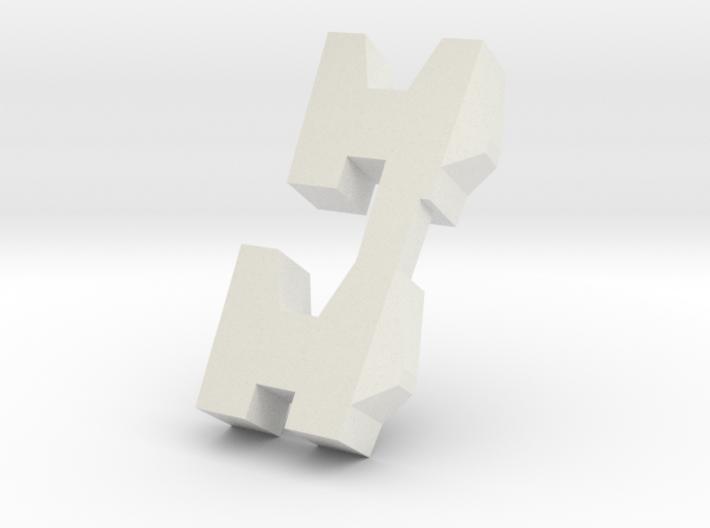 hazard shoulders 3d printed