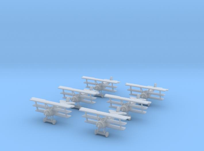 1/288 Fokker Dr.I (x6) 3d printed