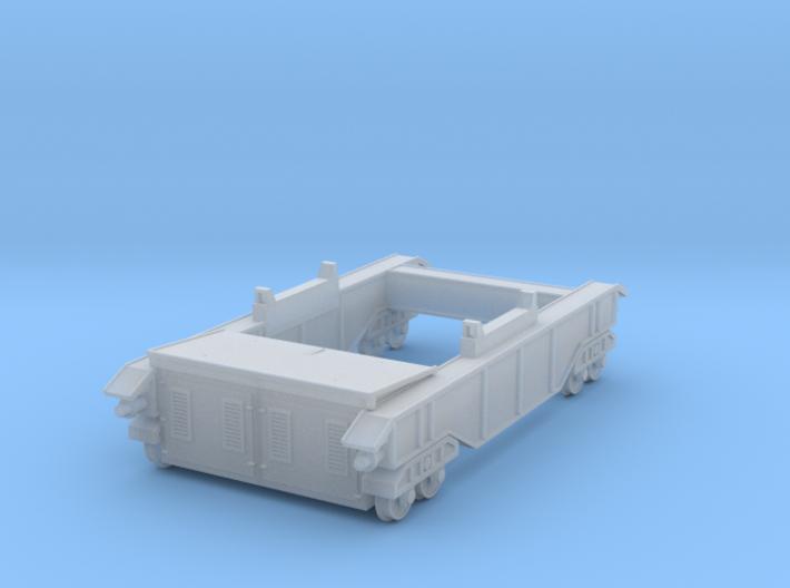 N-scale 250t Ladle Transfer Car 3d printed