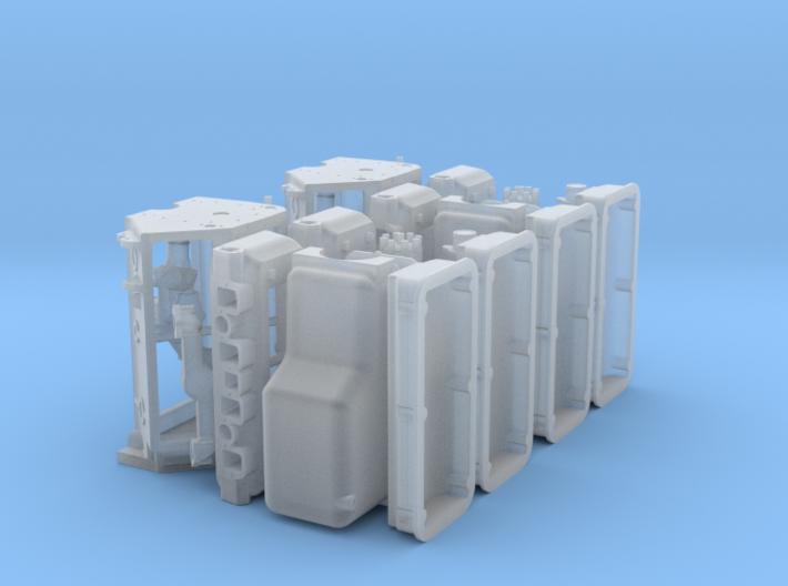 1/18 392 Hemi Basic Block Kit 2 Pack 3d printed