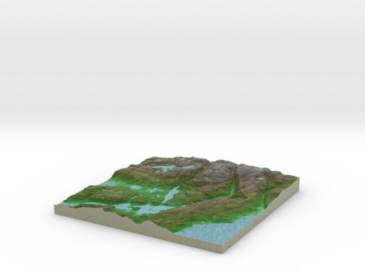 Terrafab generated model Mon Dec 02 2013 17:03:44 3d printed