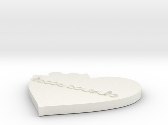 Tiny Heart Gear 3d printed