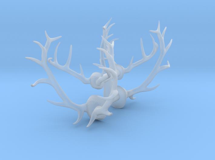 1/48 Elk and Deer antlers 3d printed