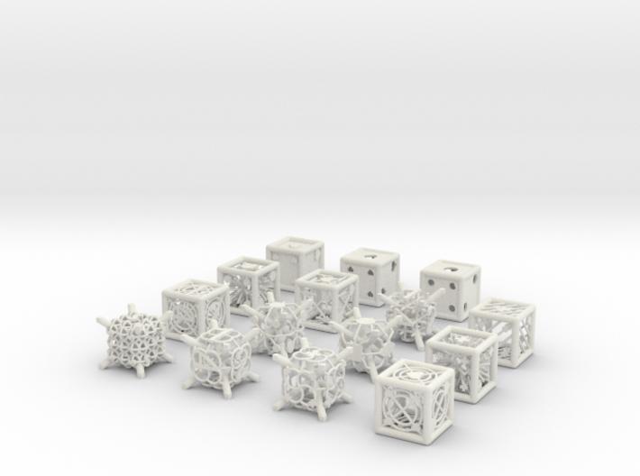 Grid Die All Pack 1 of 13 3d printed