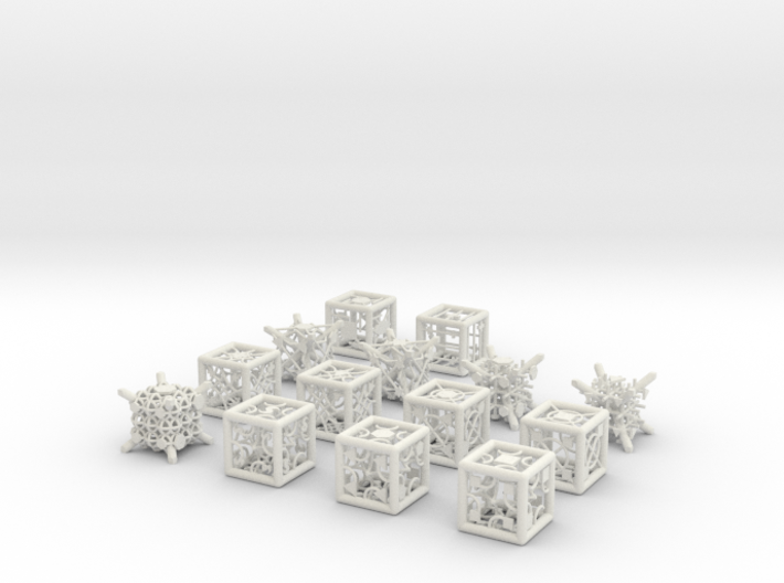 Grid Die All Pack 12 of 13 3d printed