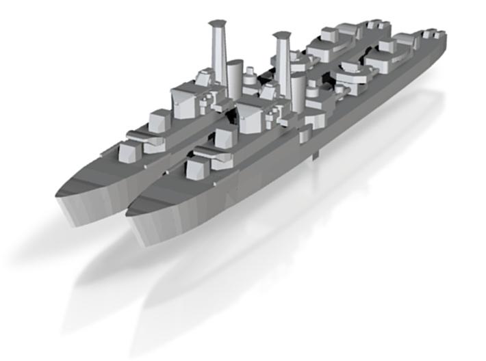HMS Caesar (1944) (Ca-Class) 1:1800 x2 3d printed