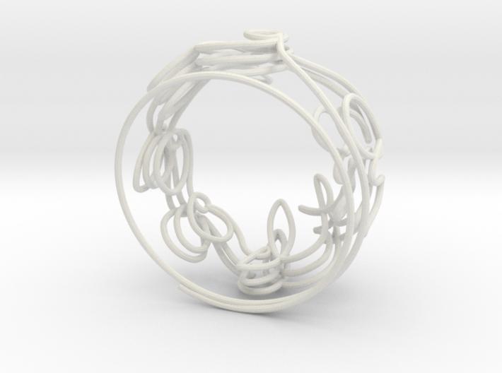 Swirl (34) 3d printed
